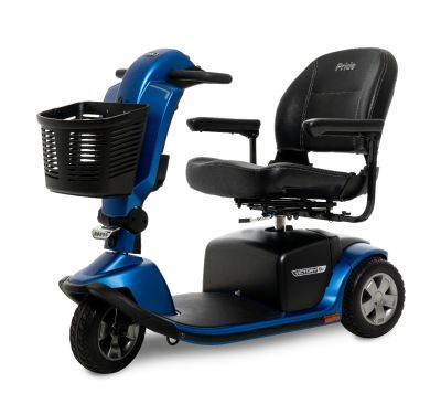 Pride  Victory 10.2  3 wheel Mobility Scooter