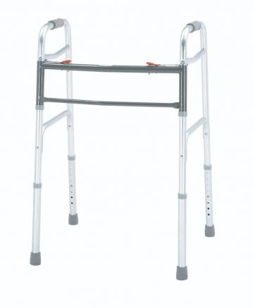 Bariatric Aluminum Folding Walker, Two Button, 2/ctn
