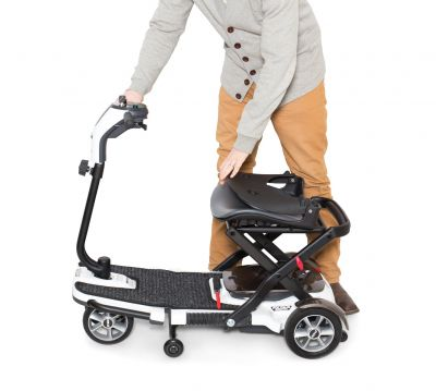 Pride Go Go Folding Scooter 4-Wheel