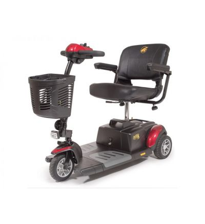 BUZZAROUND XL-HD 3 wheel Compact Travel Scooter