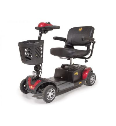 BUZZAROUND XL-HD 4 Wheel Compact Travel Scooter