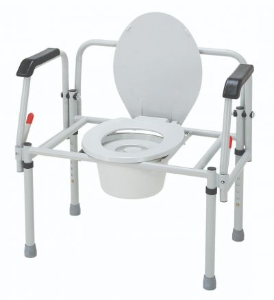 Bariatric 3-In-1 Steel Commode