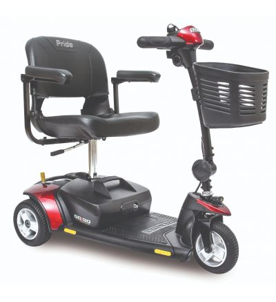 Pride Go Go Elite Traveller 3-Wheel  Mobility Scooter