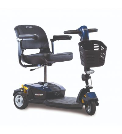 Pride Go Go LX with CTS Suspension 3-Wheel Scooter