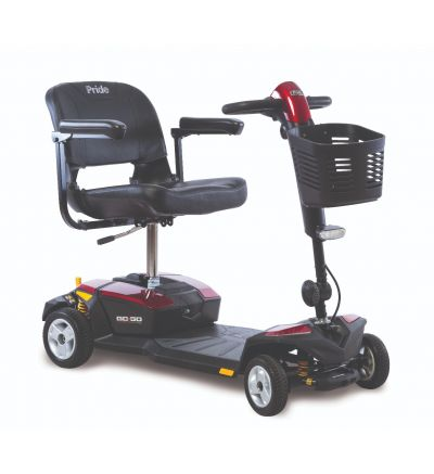 Pride Go Go LX with CTS Suspension 4-Wheel Scooter
