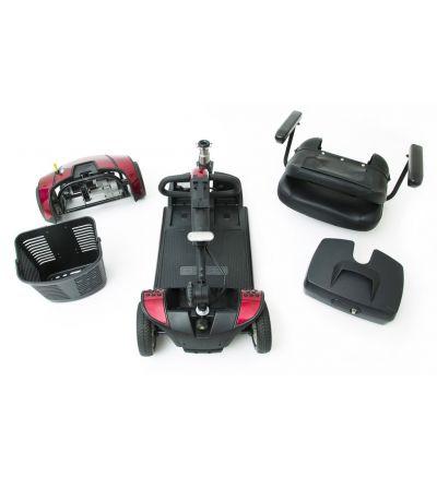 Pride Go Go Elite Traveller 4-Wheel Scooter