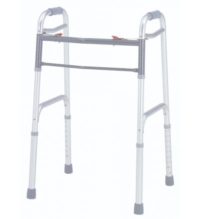 Deluxe Folding Walker, Two Button, 4/ctn