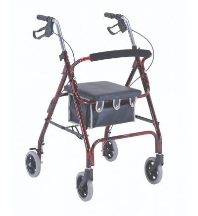 4-Wheeled, Alum., Loop Brake, 6